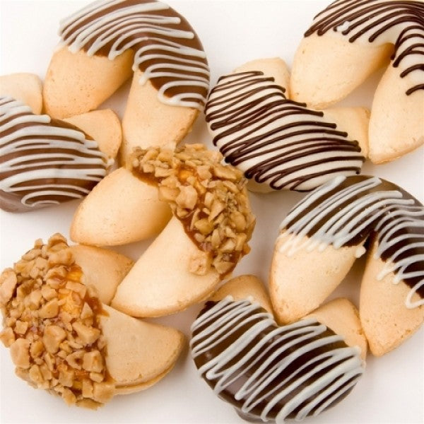 Classic Hand Dipped Gourmet Fortune Cookies