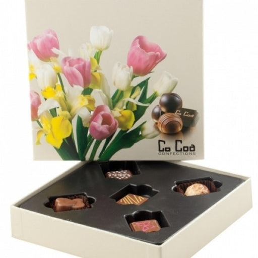TULIPS CHOCOLATE GIFT BOX - Chocolate.org