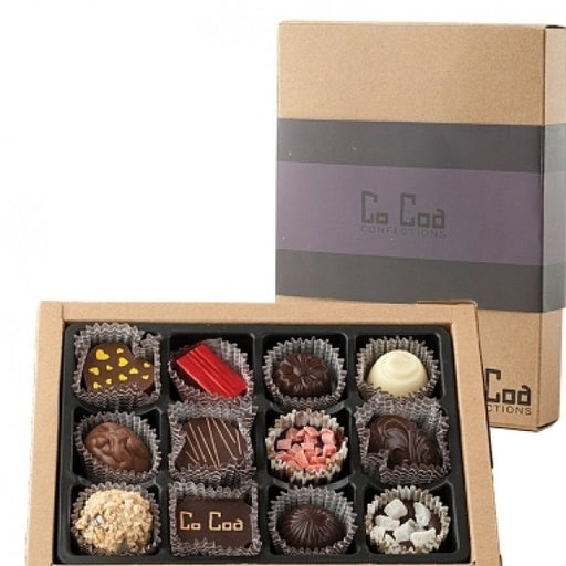 Gemstone Collection Chocolate Gift Box  Purple