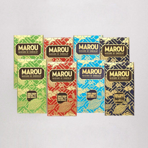 Marou Single Origin 8 Pack Sampler - Chocolate.org