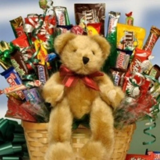 Beary Huggable Chocolate Gift Basket - Chocolate.org
