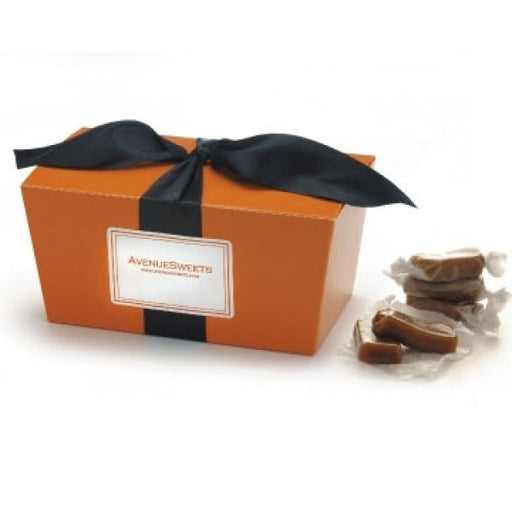 Gourmet Caramels In Halloween Gift Box - Chocolate.org