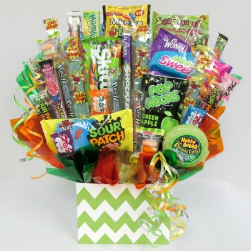 Sour Lovers Candy Bouquet - Chocolate.org