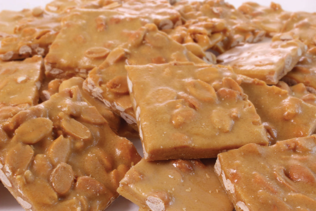 GOURMET PEANUT BRITTLE 2 LBS Bag - Chocolate.org