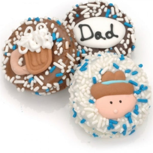 Father's Day Chocolate Dipped Oreos