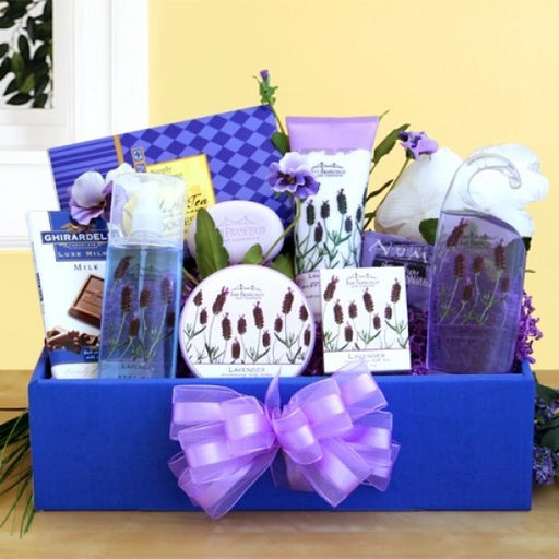 Lavender Relaxation Gift Box - Chocolate.org