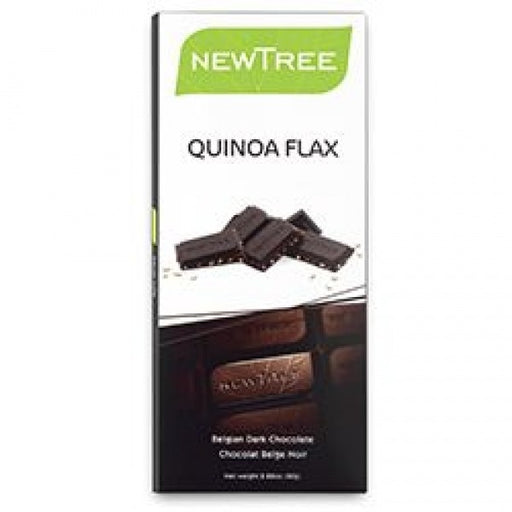 Organic Dark Chocolate With Quinoa Flax