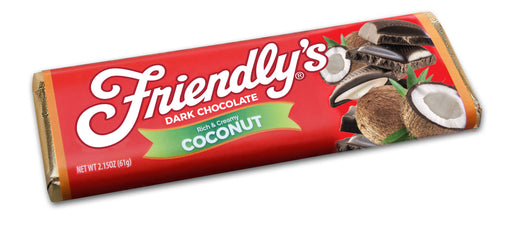 Friendly's Coconut Dark Chocolate - Chocolate.org