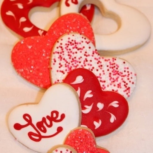 Love Is In The Air Valentine's Day Cookies