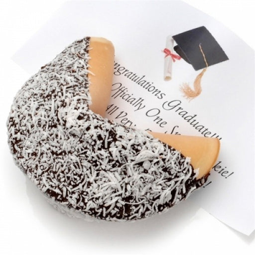 Coconut Sensation Dark Chocolate Giant Fortune Cookie