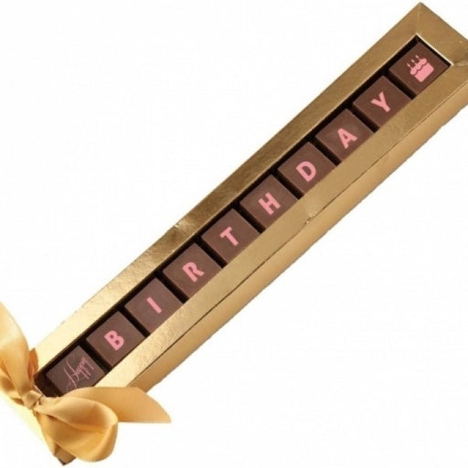 Happy Birthday Chocolate Gift Set - Chocolate.org