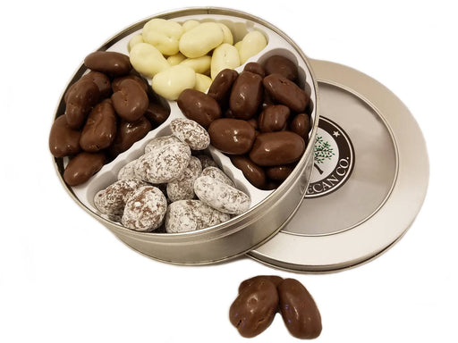 Four Chocolate Gift Tin 16 oz