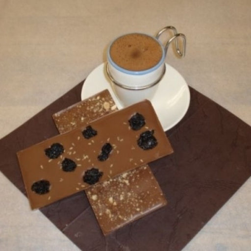 Hot Chocolate Mix With Chai And Cherry Milk Chocolate Bars