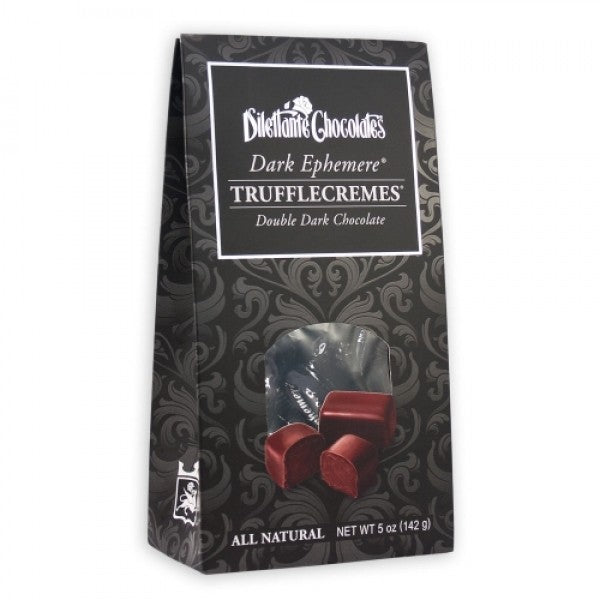 Dark Chocolate Ephemere Truffle Cremes 5 Oz Bag PACK Of 4