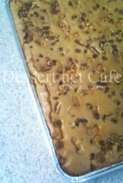 Butterscotch Pecan Brownies - Chocolate.org