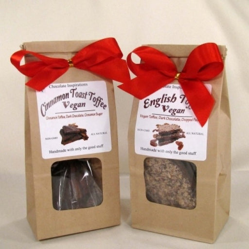 Vegan Dairy Free Candy Gift Bags Cinnamon And English Toffee