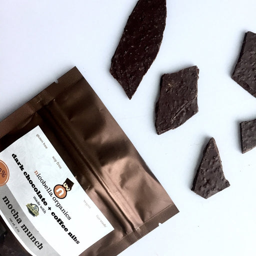 nicobella Organic Dark Chocolate Mocha Munch