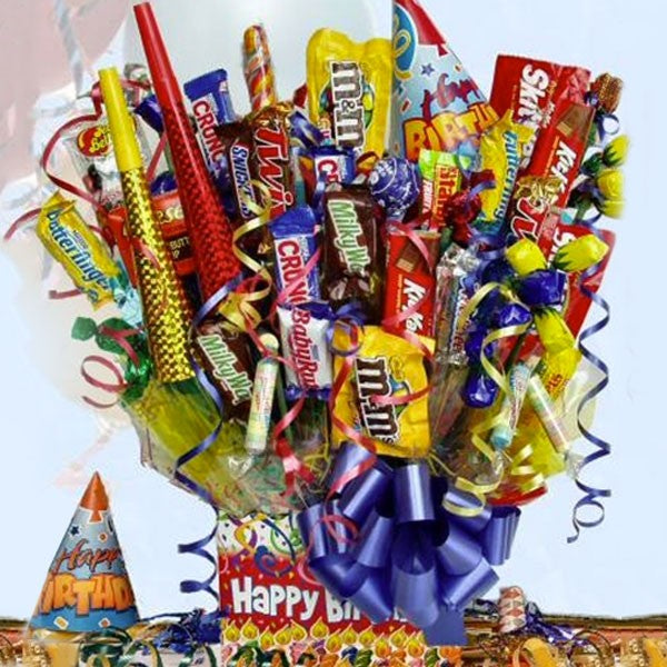 Buy Birthday Blast Chocolate Gift Basket Online