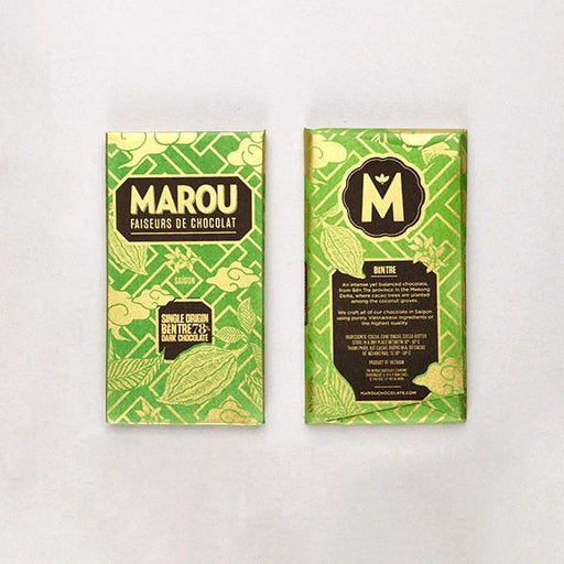 Single Origin Ben Tre 78 Percent Dark Chocolate Bar - Chocolate.org