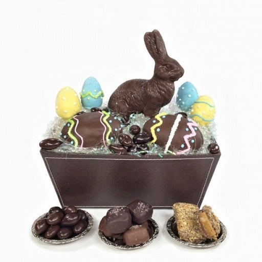 Deluxe Chocolate Easter Basket - Chocolate.org