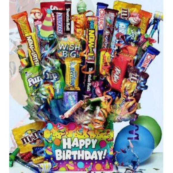 Buy Birthday Wishes Chocolate Gift Basket Online