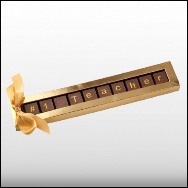 Best Teacher Chocolate Gift