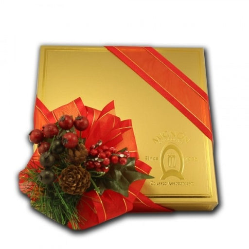Holiday Decorated Box- Classic Collection - Chocolate.org