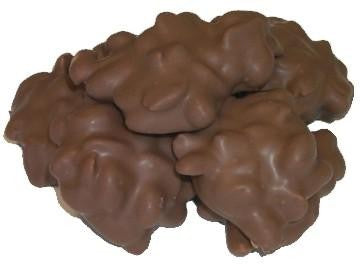 GOURMET DARK CHOCOLATE PEANUT CLUSTERS 1 LB - Chocolate.org