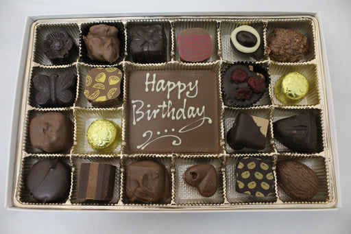 Happy Birthday Chocolates - Chocolate.org