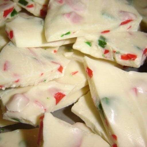 Old Fashioned Peppermint Bark Candy 8 Oz Bag