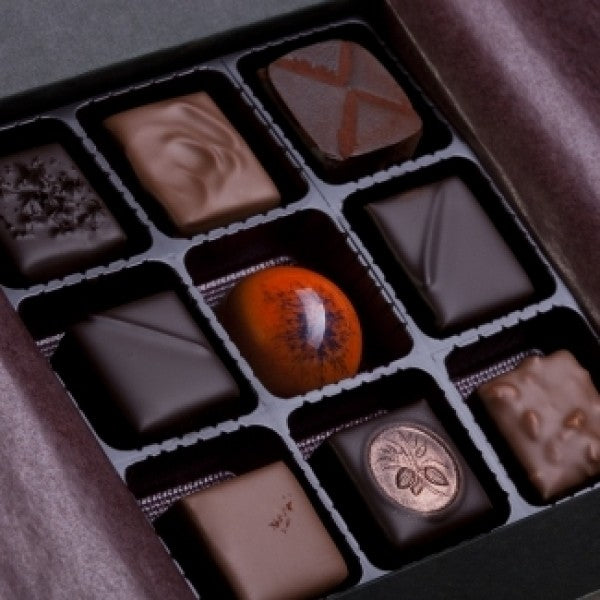 9pc Assorted Chocolate Truffles Box