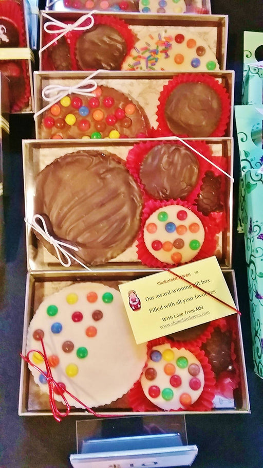 Peanut Butter Cups - Gift Box - Chocolate.org