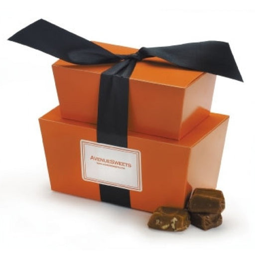 Gourmet Caramels In Halloween Gift Tower - Chocolate.org