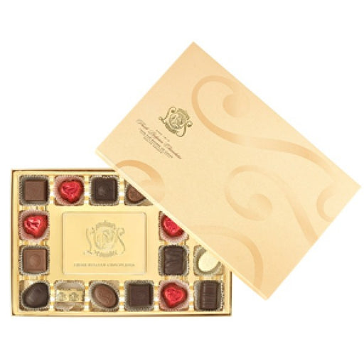 Golden 18 Piece Gift Box - Chocolate.org