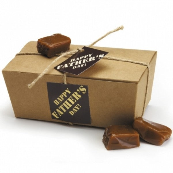 Butter Rum Caramels In A Father's Day Gift Box