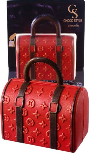 Chocolate LV Purse - Red