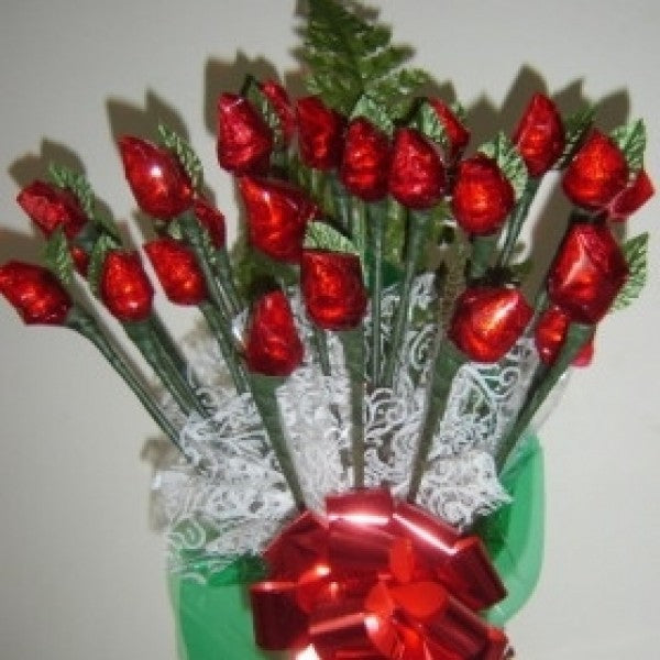 Buy Hershey Chocolate Rosebud Candy Bouquet 2 Dz Online