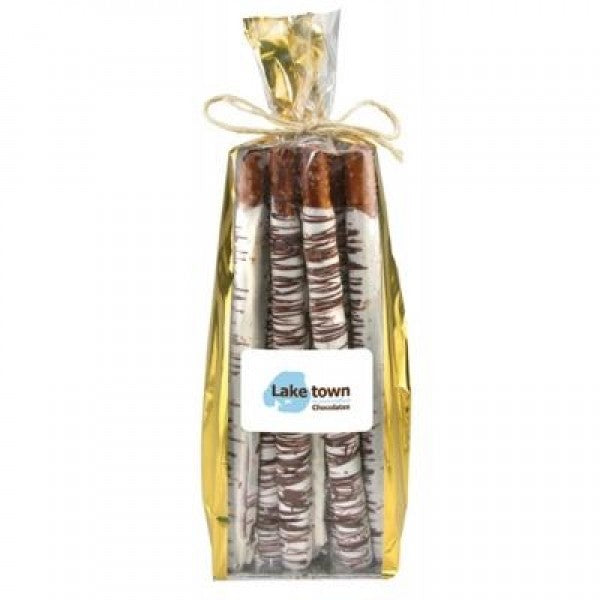 Original Northwoods Long Birch Logs 12 Piece Bag - Chocolate.org