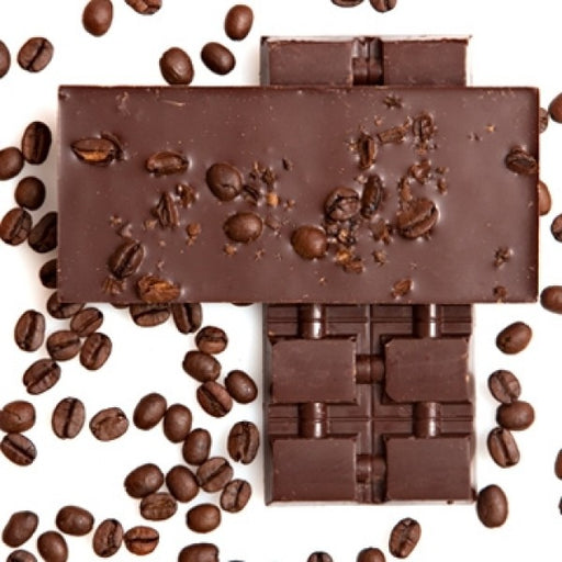 3 Single Origin Dark Chocolate Bars With Coffee Beans