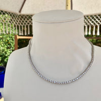 Sterling silver gold plated cz diamond choker + chain necklaces