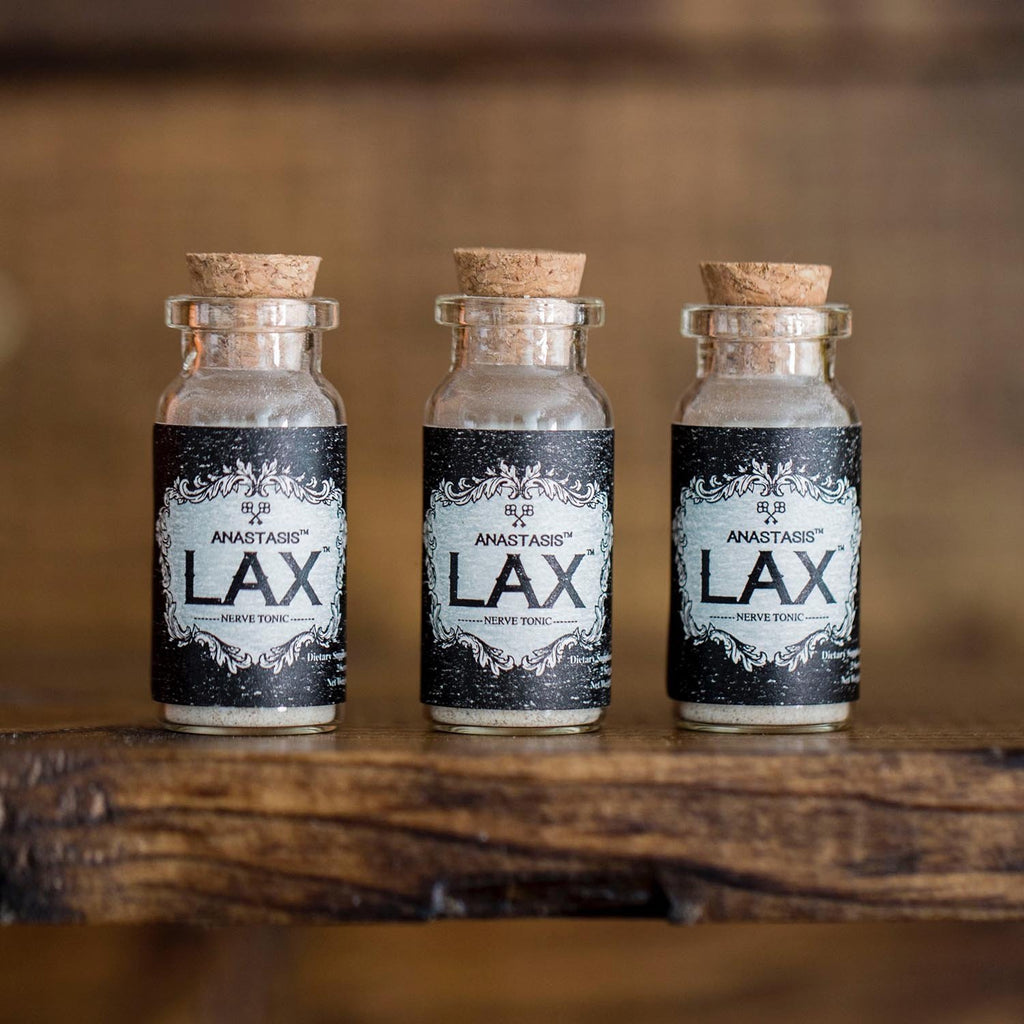 LAX Relaxing Agent Biohacking Supplement 2 Servings 3 pack