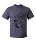 Moon Rabbit & Flower T-shirt