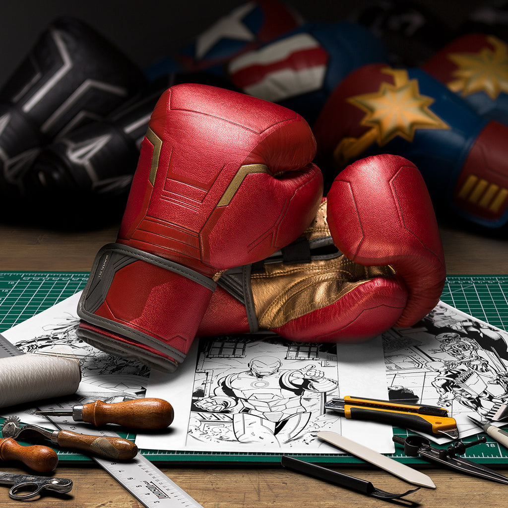 Designing Iron Man Boxing Gloves