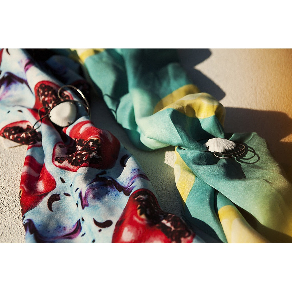 Bamboo Silk Digitally printed Beach Pareo / Scarf