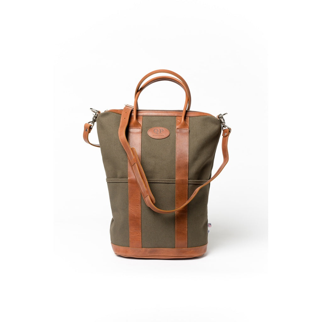 Helmet Bag - Large - Tan and Green
