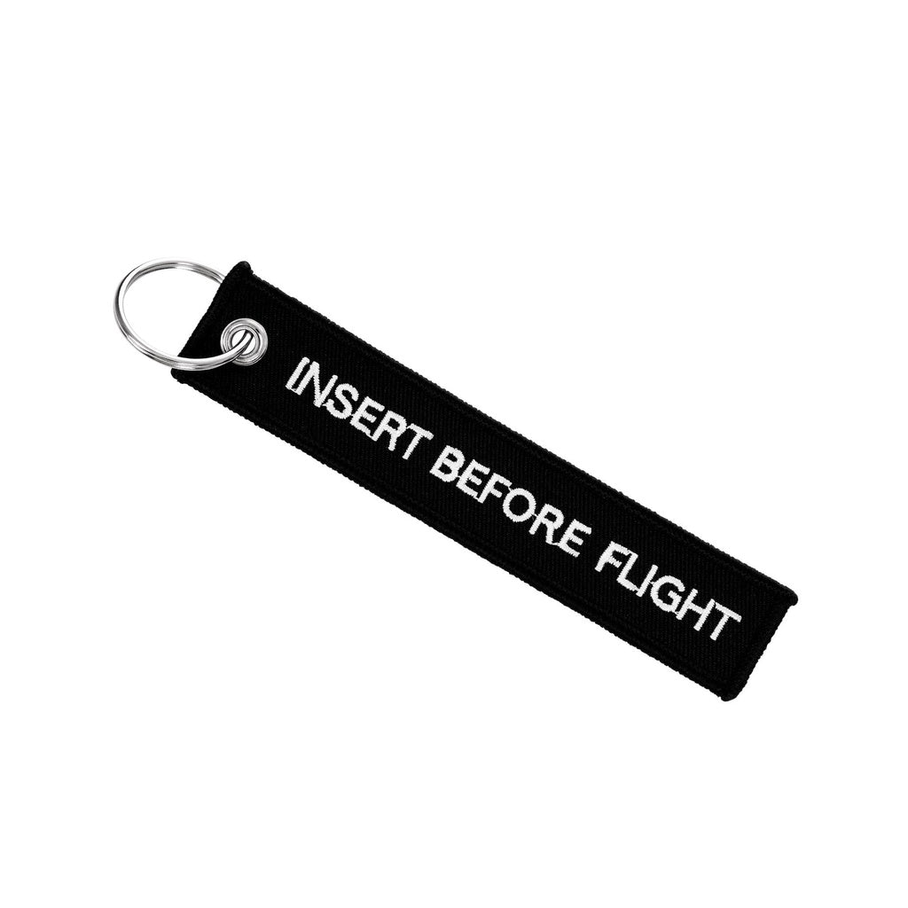 "Vitae Cycle / ""Insert before flight"" Key tag"