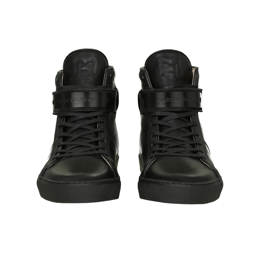CLASSIC HIGH TOP WOMEN | MATTE BLACK | BLACK