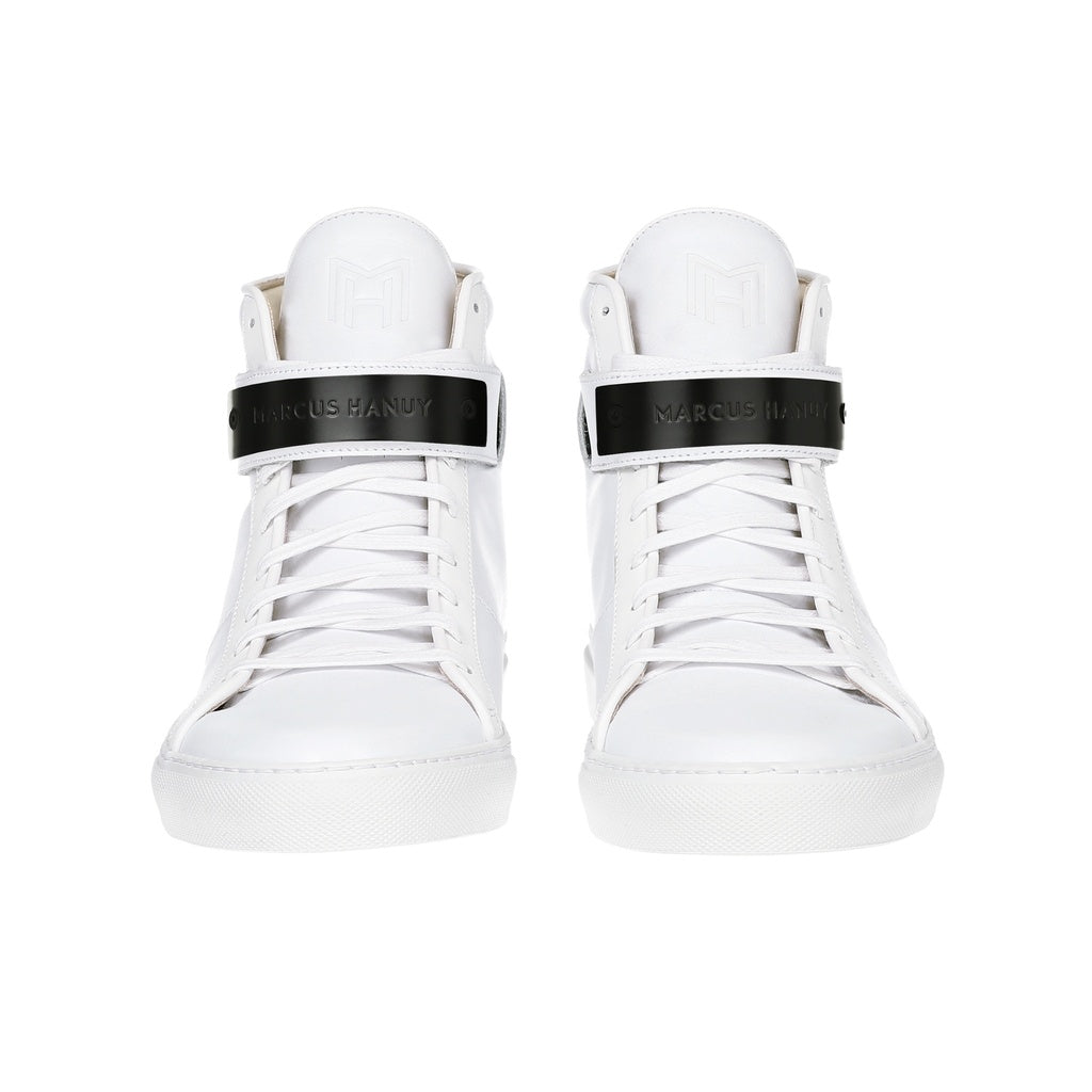 CLASSIC HIGH TOP MEN | MATTE BLACK | WHITE