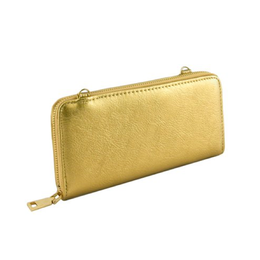 Gold Convertible Wallet