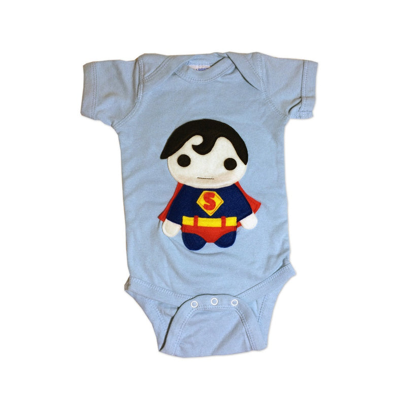 Super Hero Onesie - Team Super Animals - Hopper Froggy